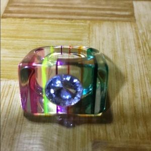 Lucite ring